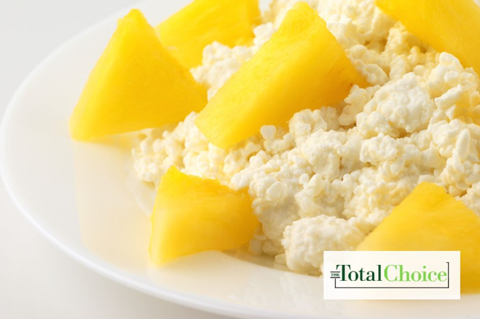 Total Choice Tropical Cottage Cheese and Fruit Bowl