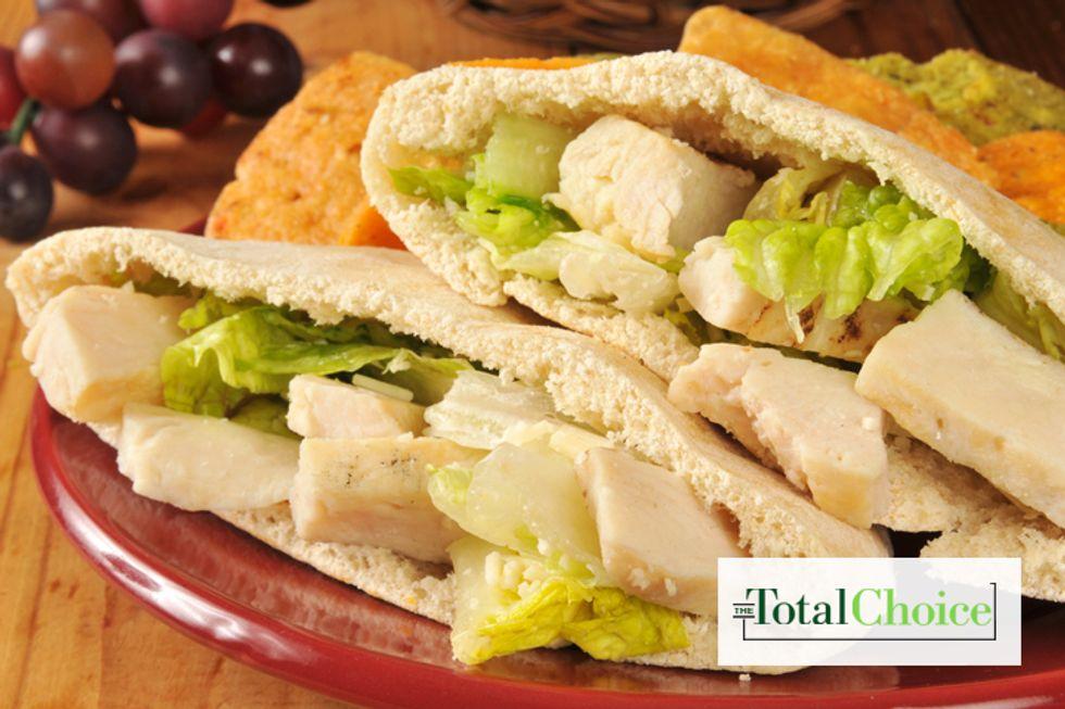 Total Choice Grilled Chicken Pita Pocket Sandwich