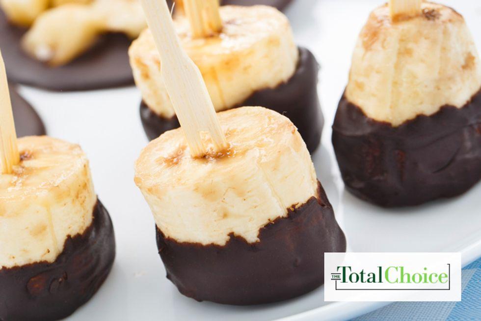 Total Choice Chocolate-Dipped Banana Bites