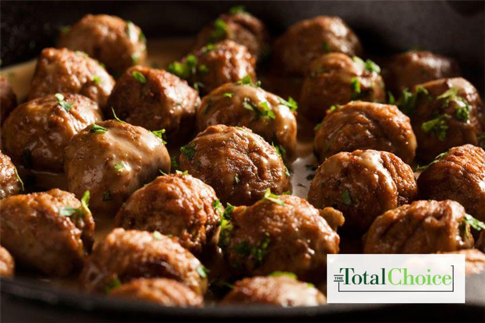 Total Choice Chia Meatballs