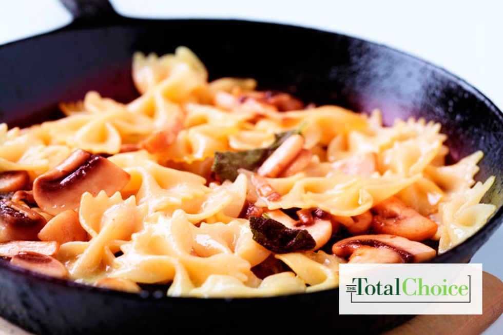 Total Choice Mushroom & Pasta Alfredo