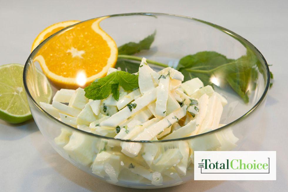 Total Choice Jicama Lime Salad