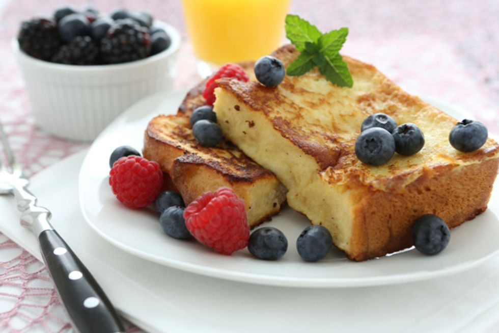Sprouted Bread French Toast