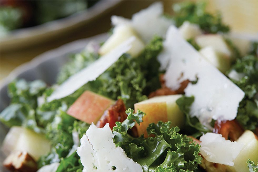 Kimberly Schlapman's Kale Salad With Dates