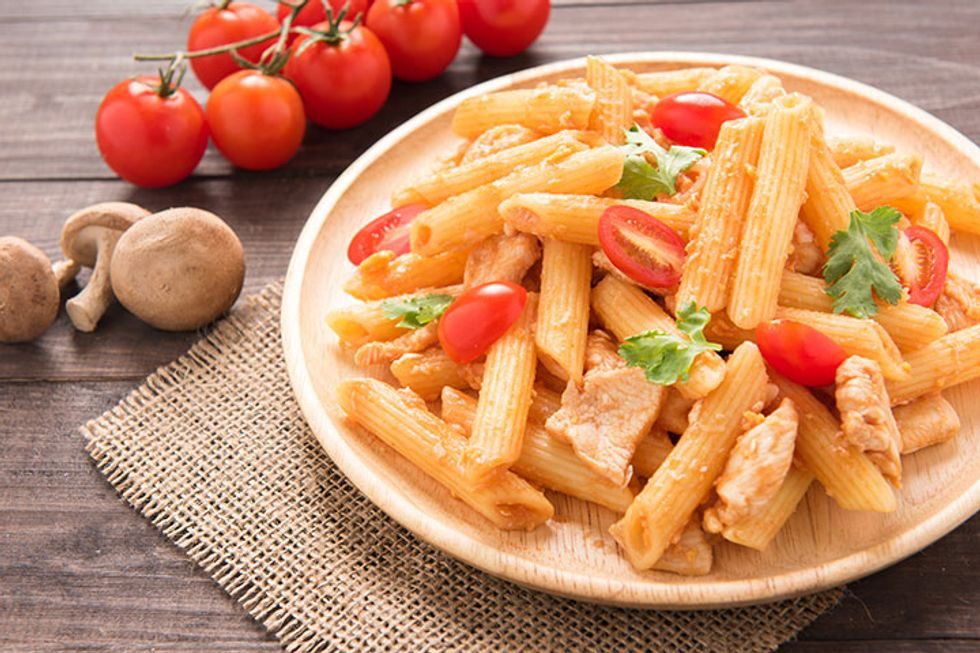 Day-Off Diet Penne With Chicken