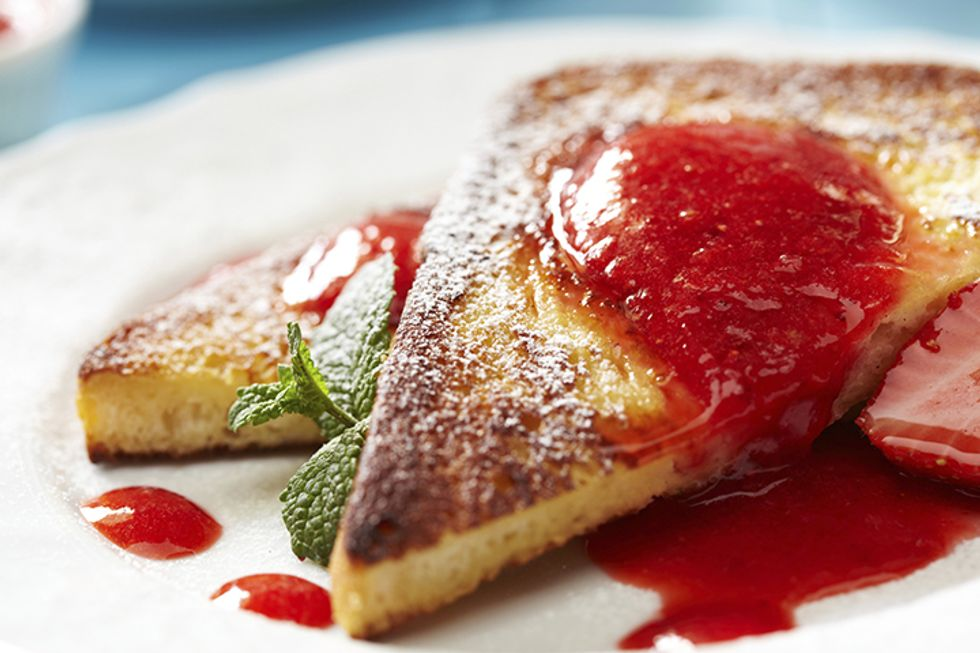 Hungry Girl's Day-Off Diet PB&J French Toast