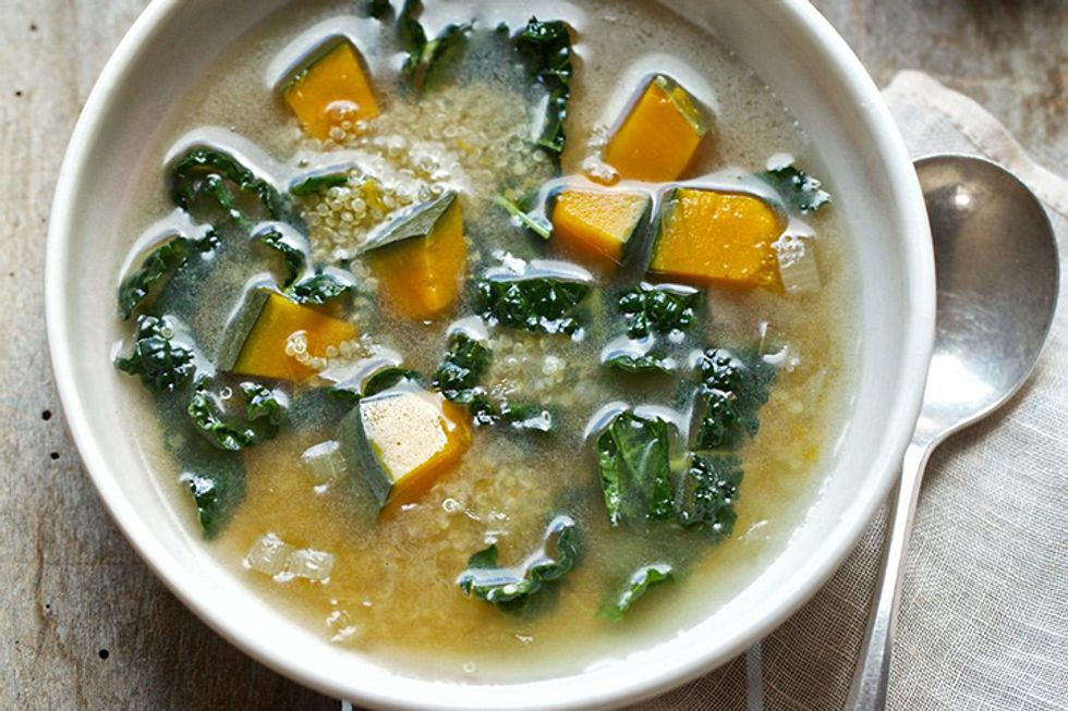 Candice Kumai's Day-Off Diet Kabocha Squash Soup and Quinoa