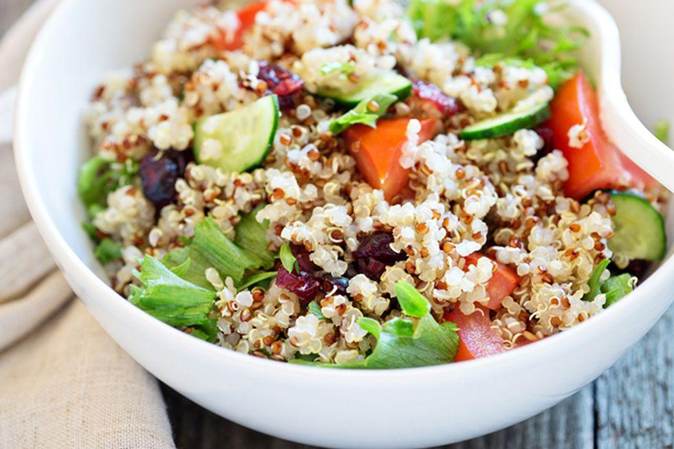 Quinoa and Feta Cheese Salad