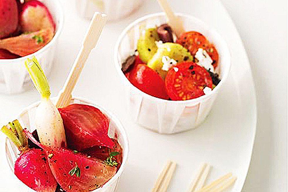Lauren Conrad's Baby Greek Salad