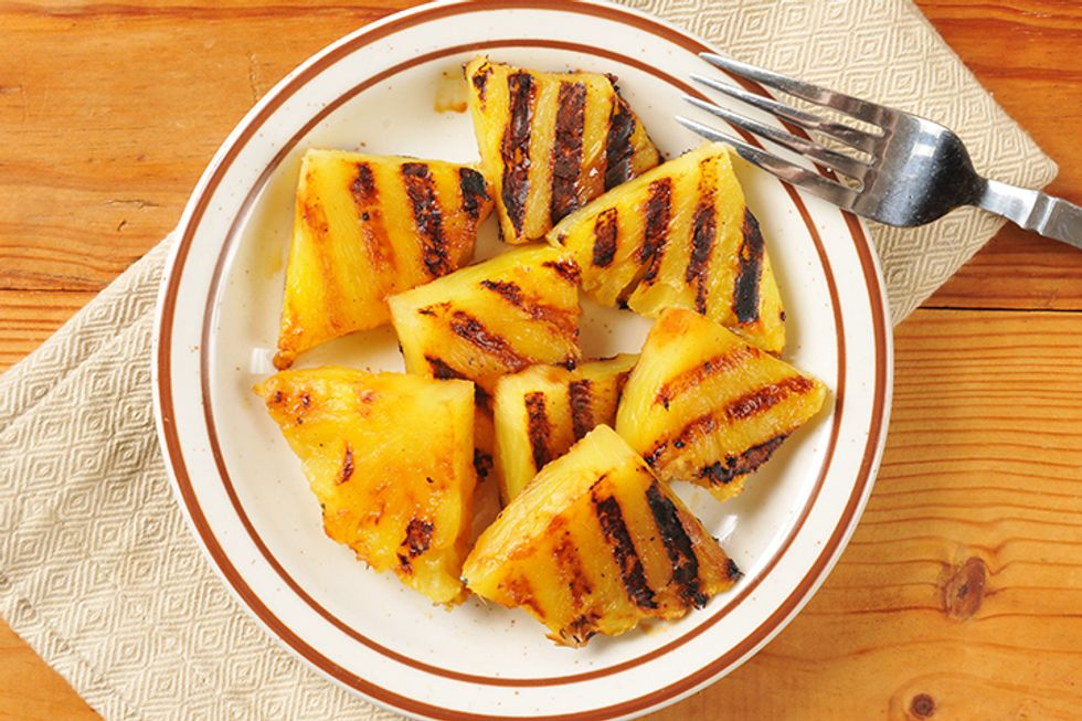 Pegan 365 Grilled Pineapple