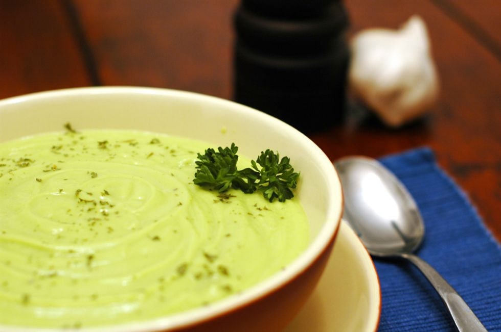 Cooling Cucumber Avocado Soup