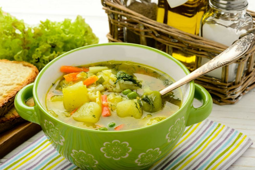 Green Pastures Soup