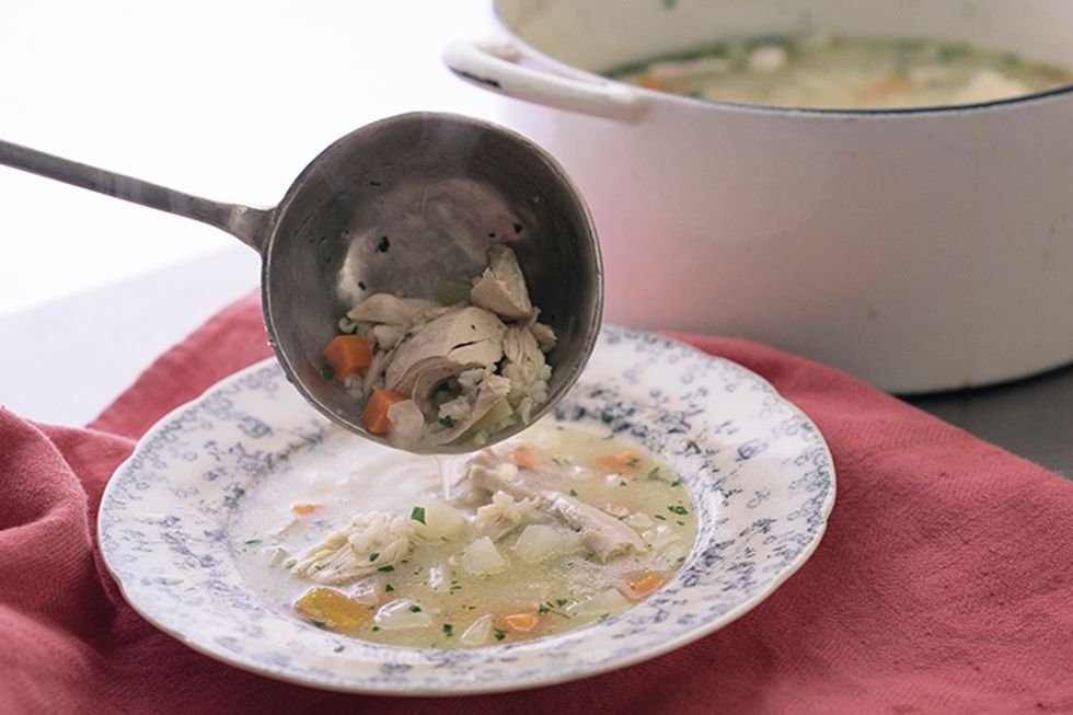 Curtis Stone's Homemade Chicken Soup