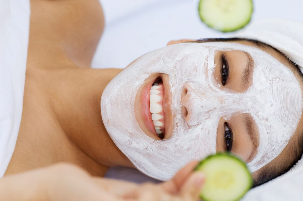 Greek Yogurt Face Mask