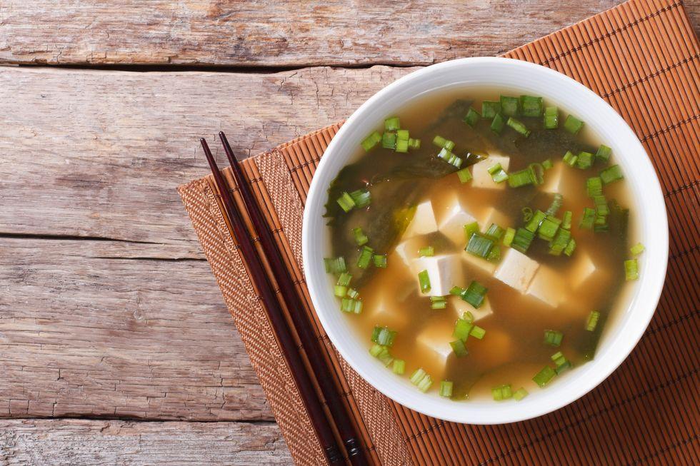 Tia Mowry's Miso Soup