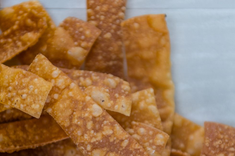 Hungry Girl's Crunchy Wonton Strips