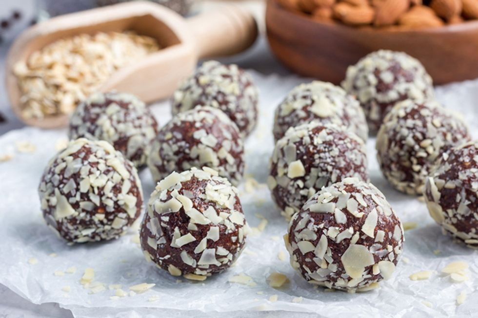 Coconut Oil and Almond Butter Fat Bombs