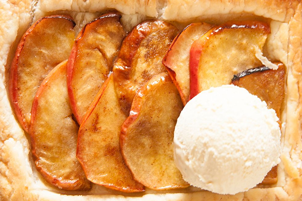 Sam Talbot's Apples Foster With Coconut-and-Whiskey Caramel