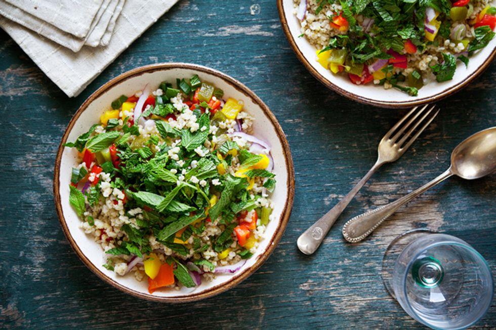 Pegan 365 Hot and Cold Salad
