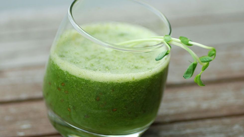 Tyson Beckford's Belly-Busting Smoothie