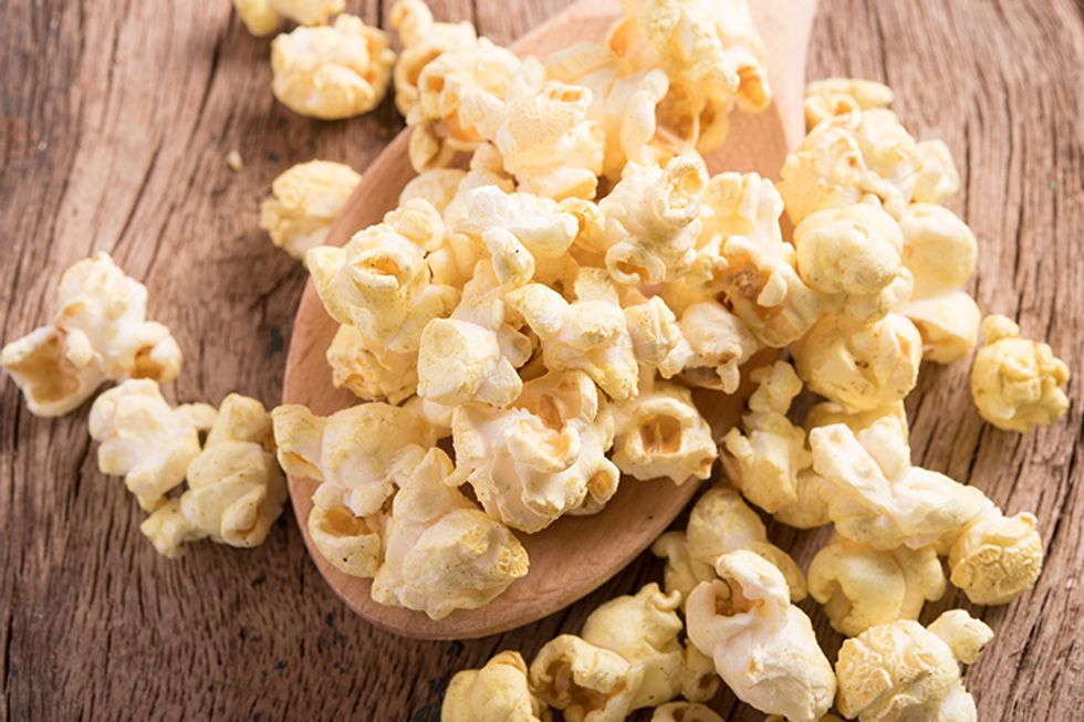 Tangy Tequila Lime Popcorn
