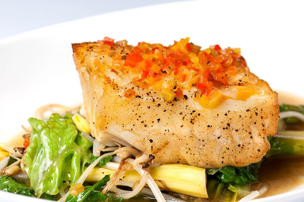 The 10-Day Tummy Tox Baked Halibut