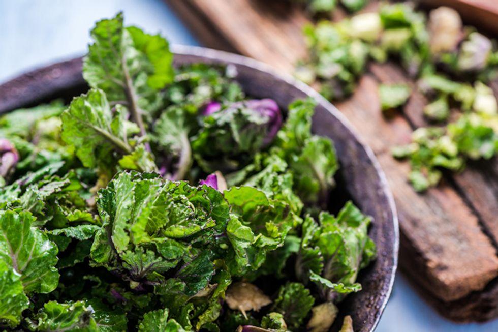 Detoxifying Dandelion and Bitter Greens Salad With Tarragon-Lemon Vinaigrette