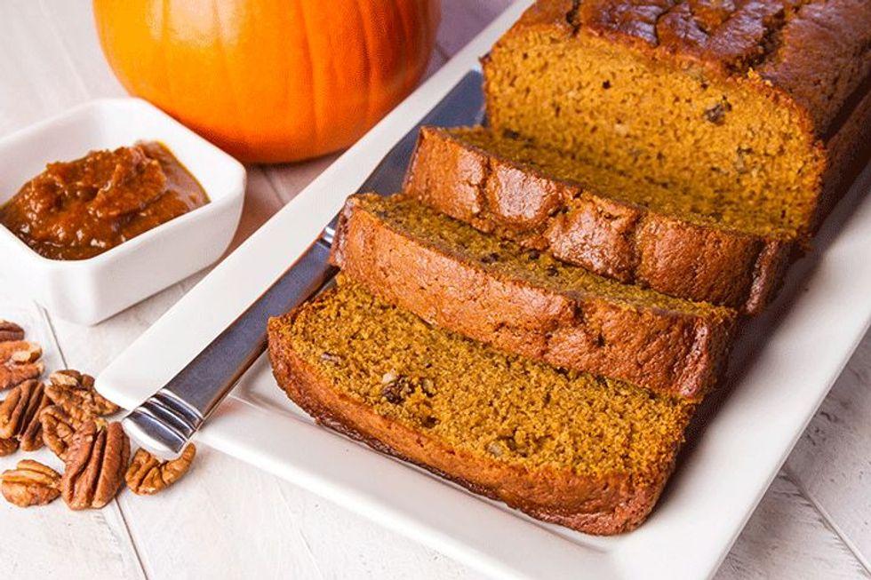 Martha Stewart's Pumpkin-Orange Bread