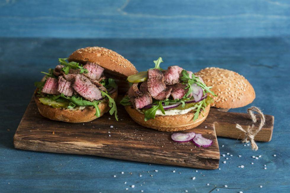 Anne Burrell's Brisket Sandwich