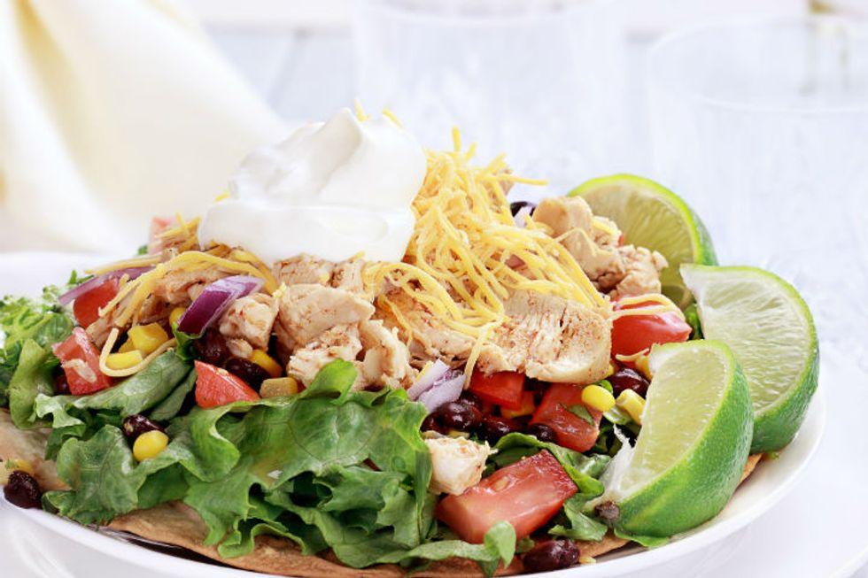 Pegan 365 Grilled Chicken Taco Salad