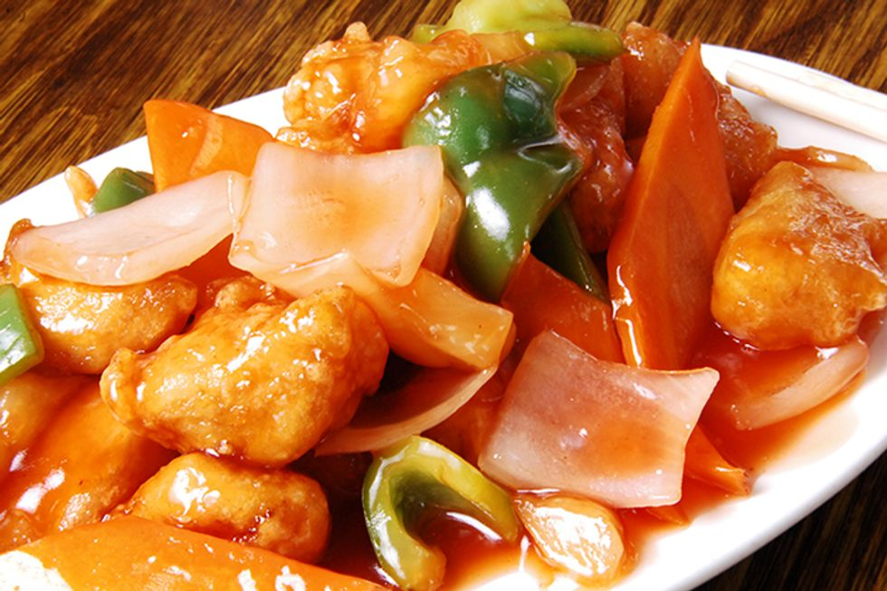 Hungry Girl's Saucy Sweet and Sour Chicken