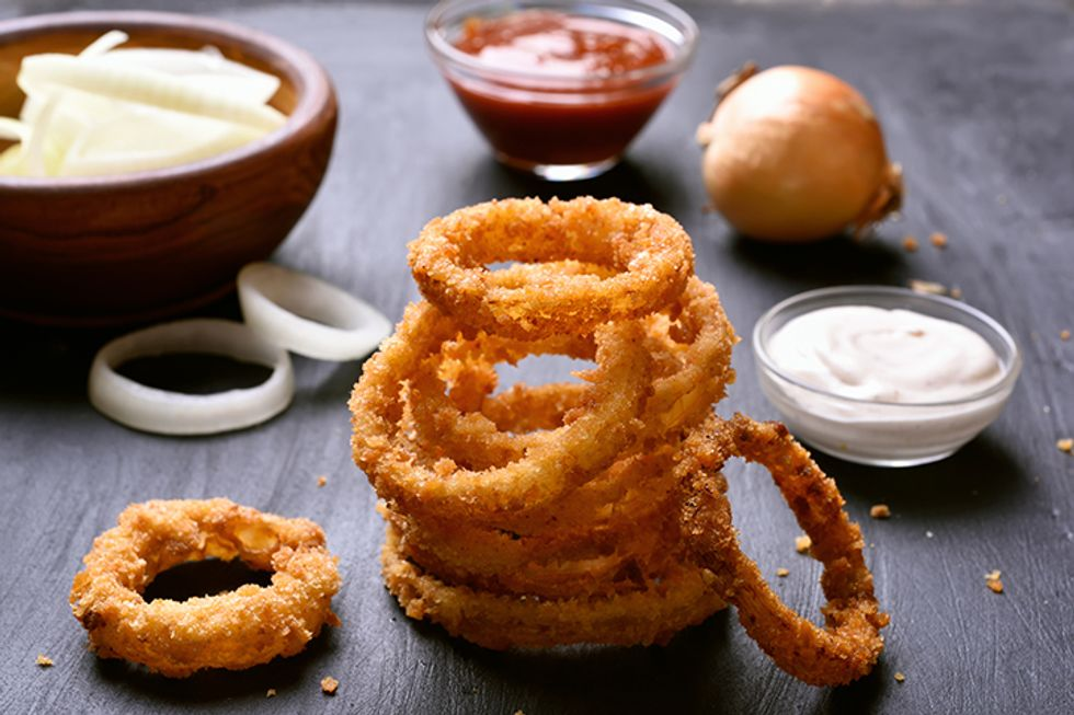 Hungry Girl's Lord of the Onion Rings
