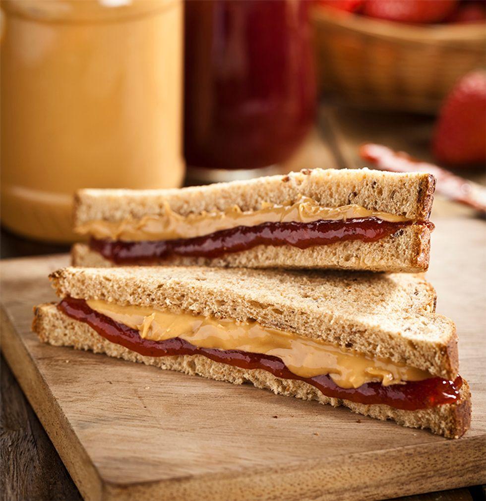 Ming Tsai's Gluten-Free Soy-Nut Butter and Jelly Sandwich