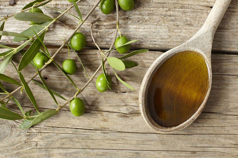 Mint Tea-Infused Olive Oil