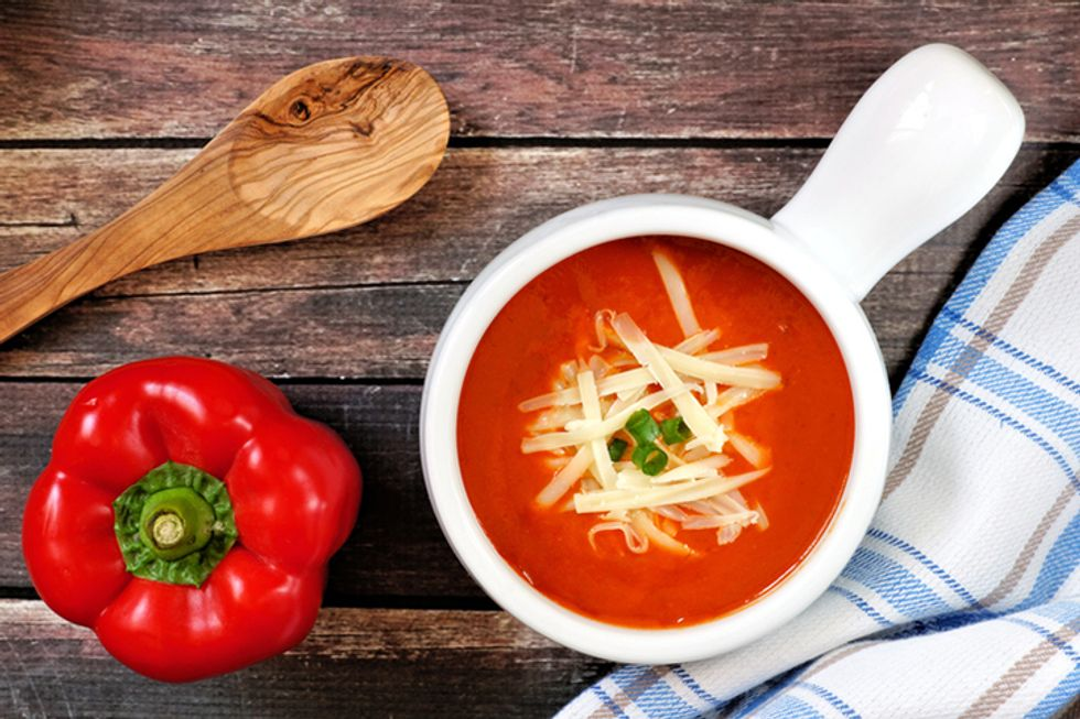 Rachael Ray's Tomato Soup With Polenta