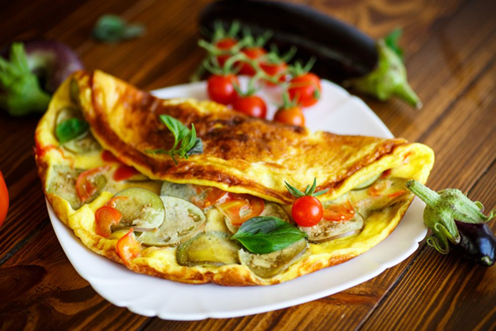 Gluten-Free Ratatouille Omelet