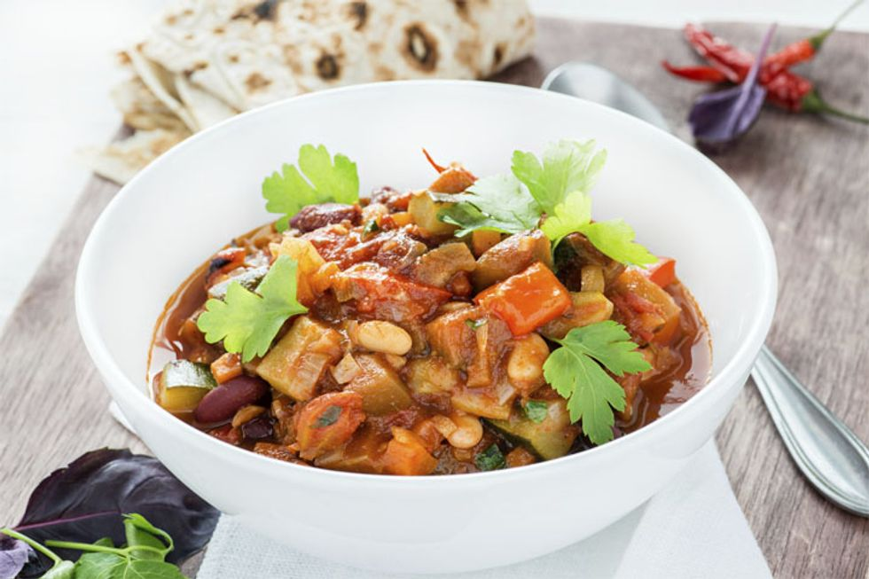 Sueanne's Vegetarian Chili