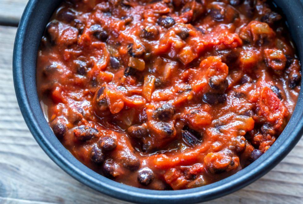 Easy 3-Bean Vegetable Chili