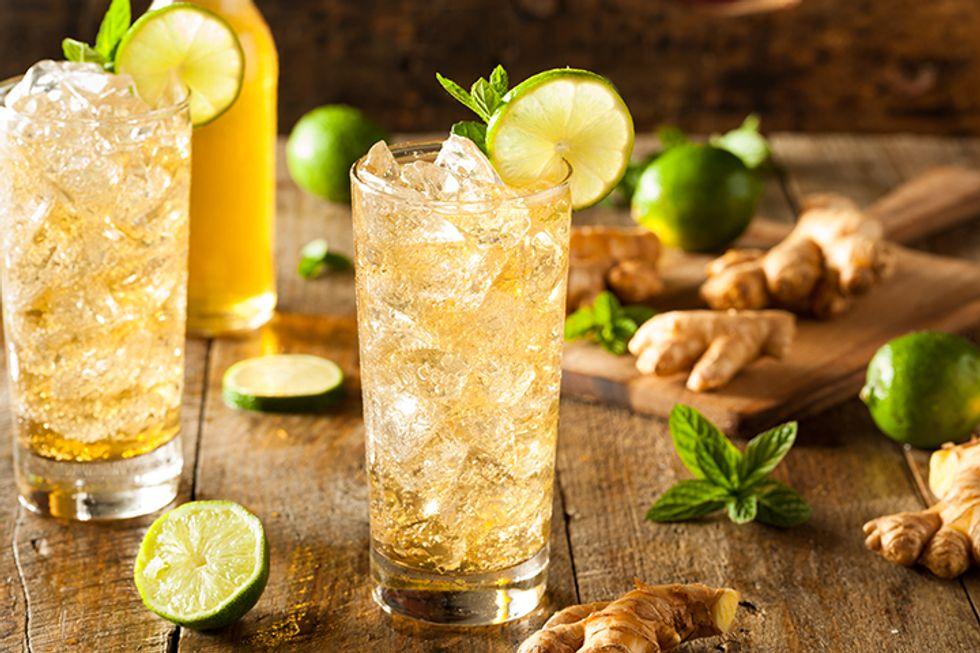 JJ Smith's Iced Ginger Honey Tea