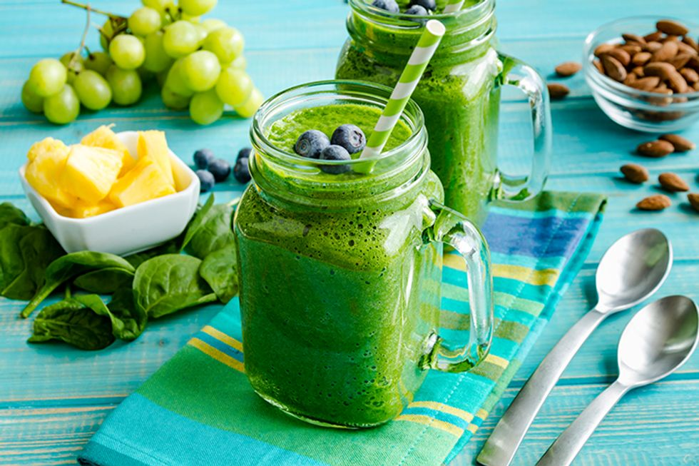 Glowing Green Smoothie for Radiant Skin