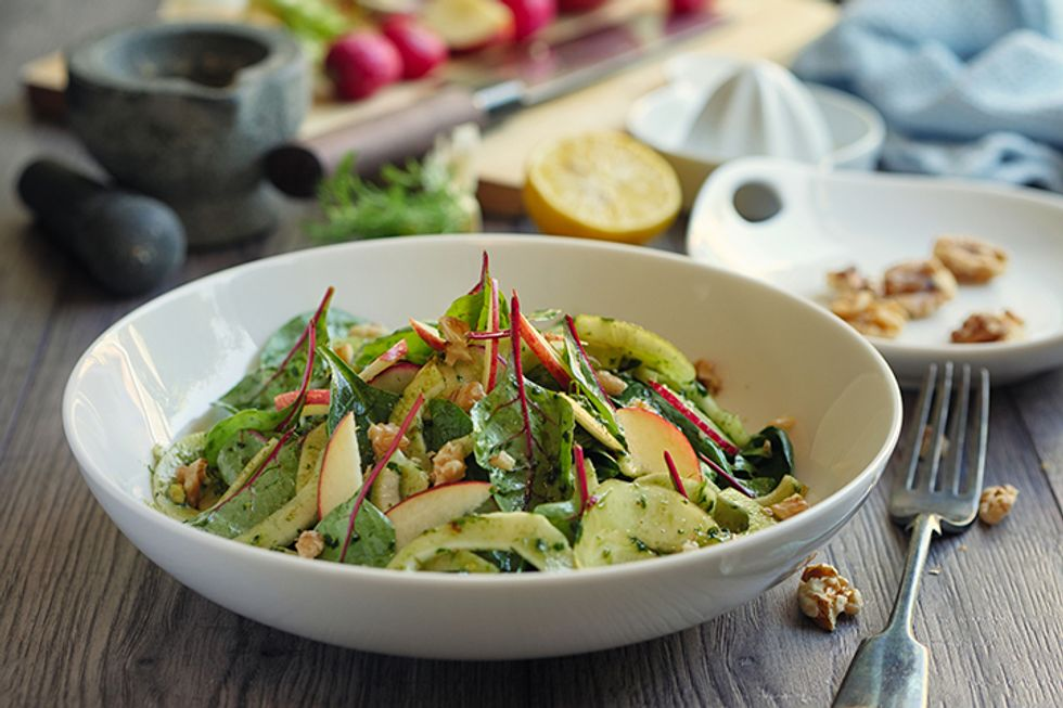 Simple Fennel and Green Apple Salad