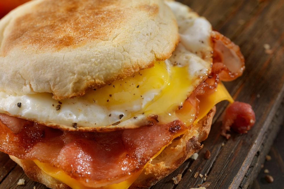 Todd Wilbur's Healthy Egg McMuffin