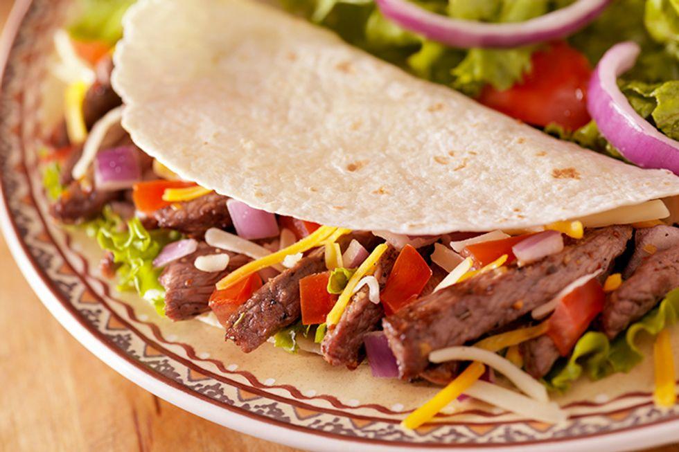 Eva Longoria's Chili-Rubbed Skirt Steak Tacos