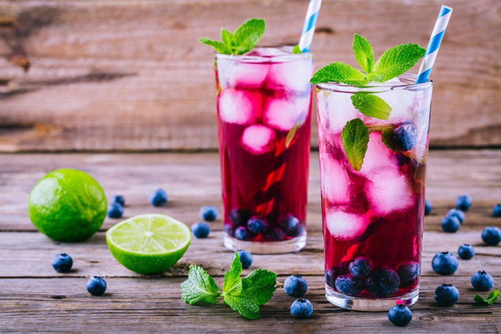 Frozen Grape-Aid