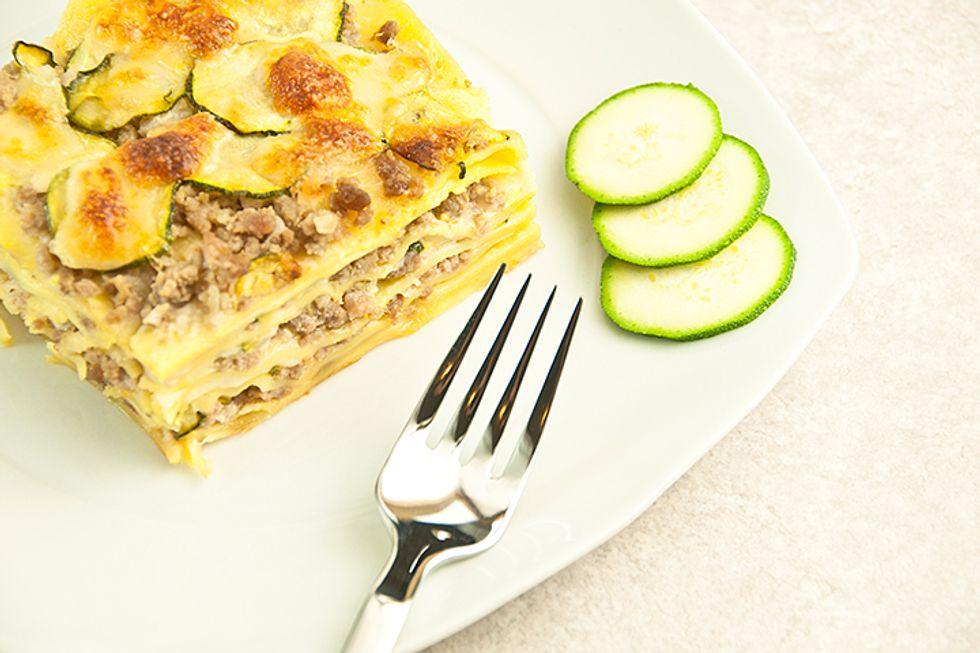 Jorge Cruise's Breakfast Lasagna