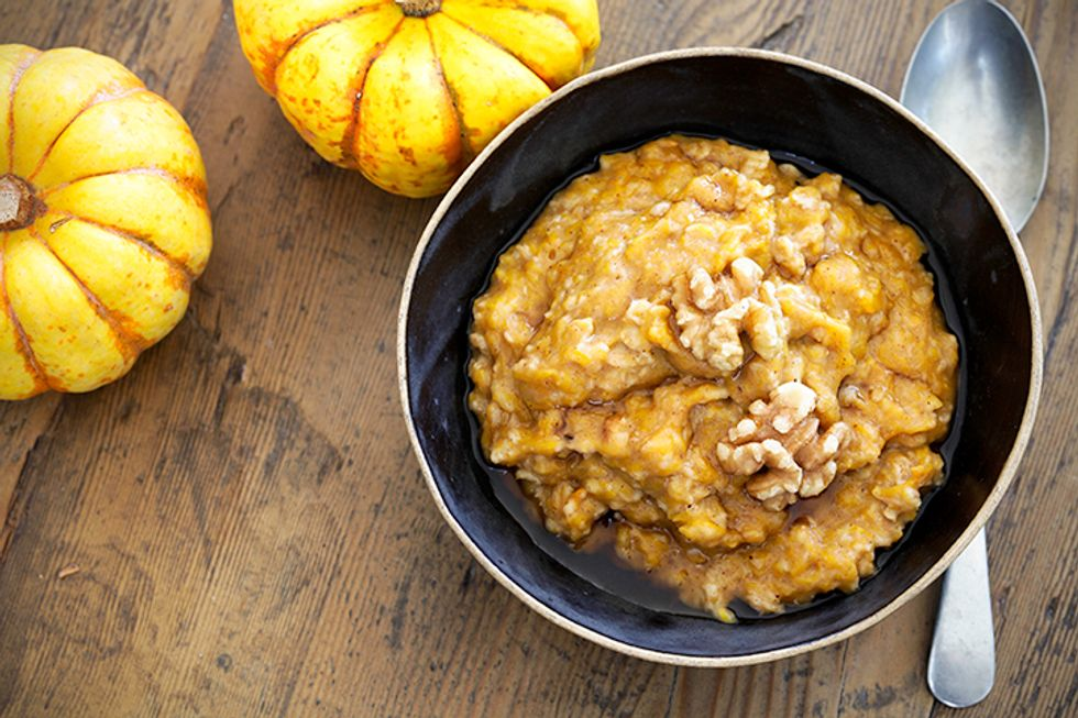 Energizing Breakfast: Canned Pumpkin Oatmeal