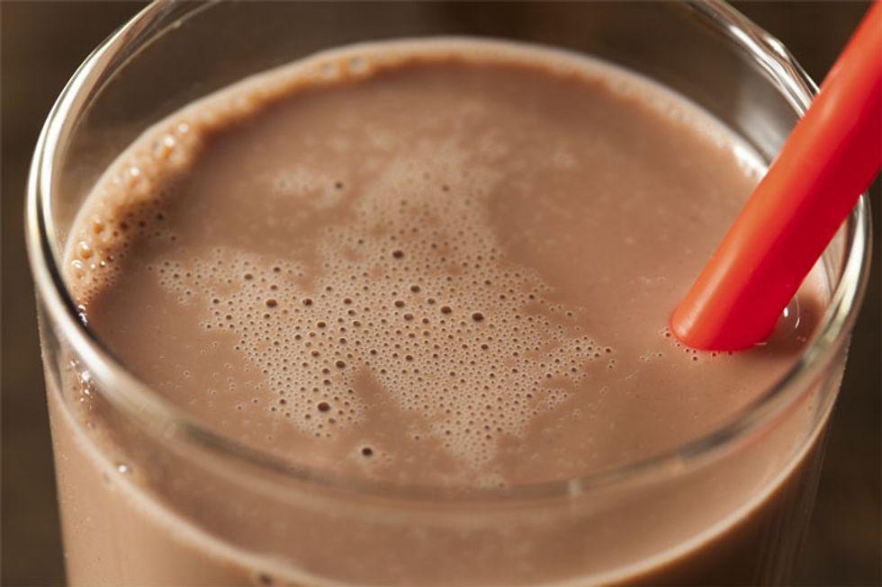 Feel-Good Chocolate Protein Shake