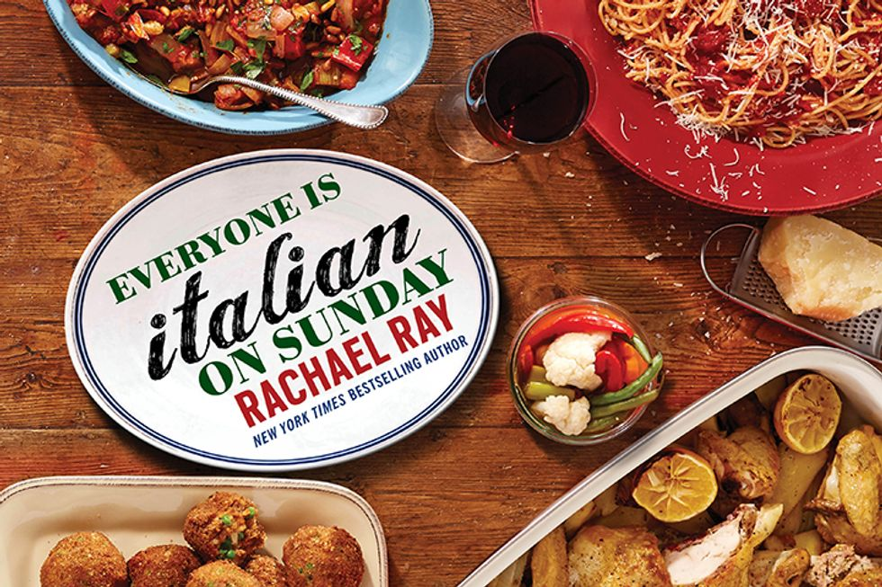 "Win a Copy of Rachael Ray's ""Everyone Is Italian on Sunday"""
