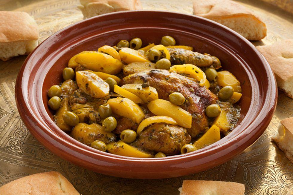 Nigella Lawson's Slow-Cooker Moroccan Chicken Stew
