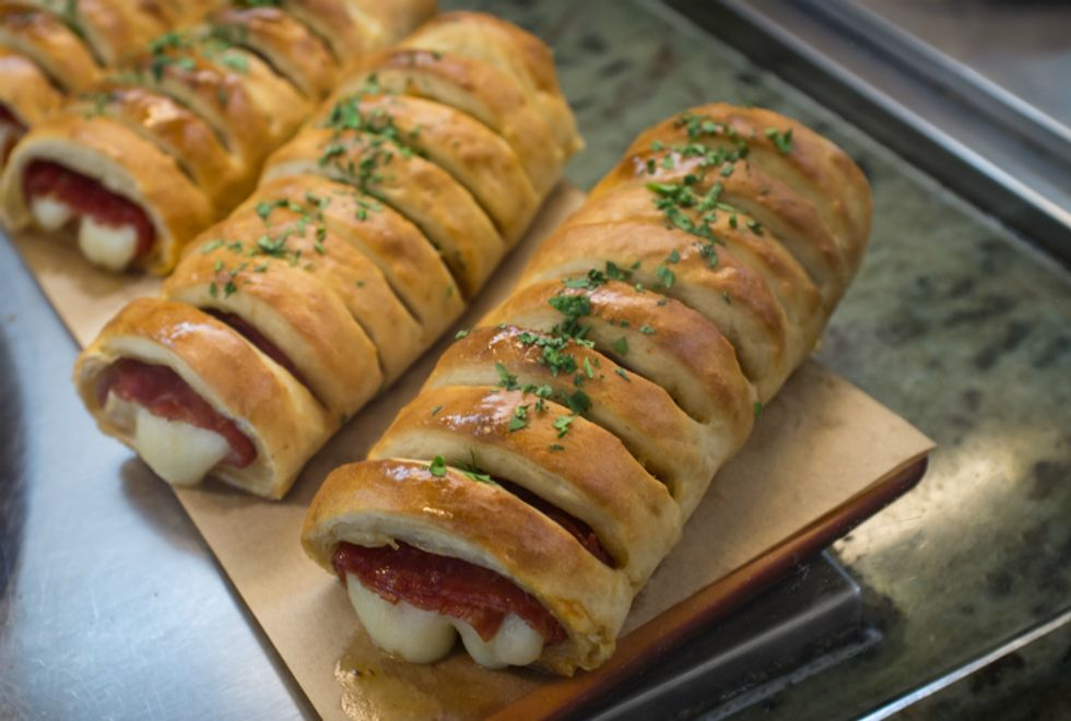 Mario Batali's Stromboli